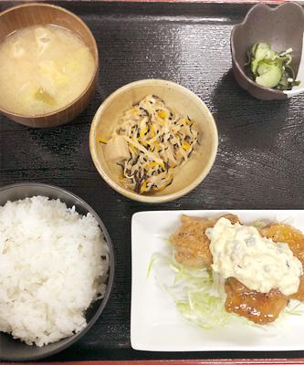 函館・下宿・食事